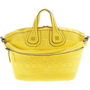 Barneys New York Givenchy Couture Padded Nightingale - Acid Yellow
