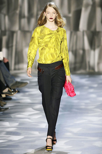 a look from fall 2009 moschino runway