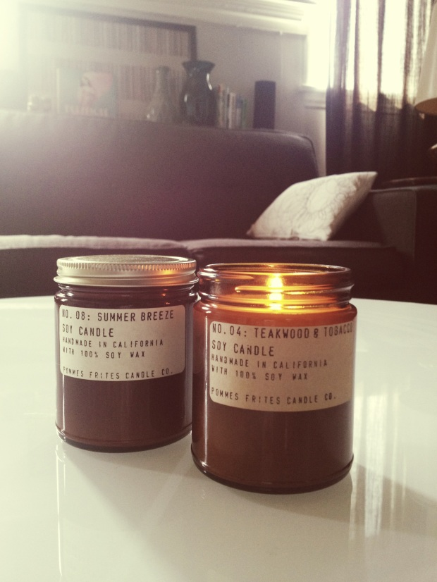 pommes frites candles